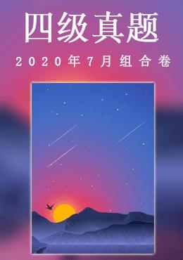 2020年7月四级组合卷